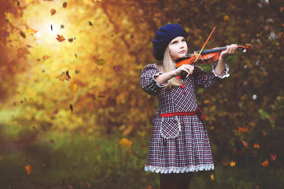 мелодия осени - Олька Никулочкина