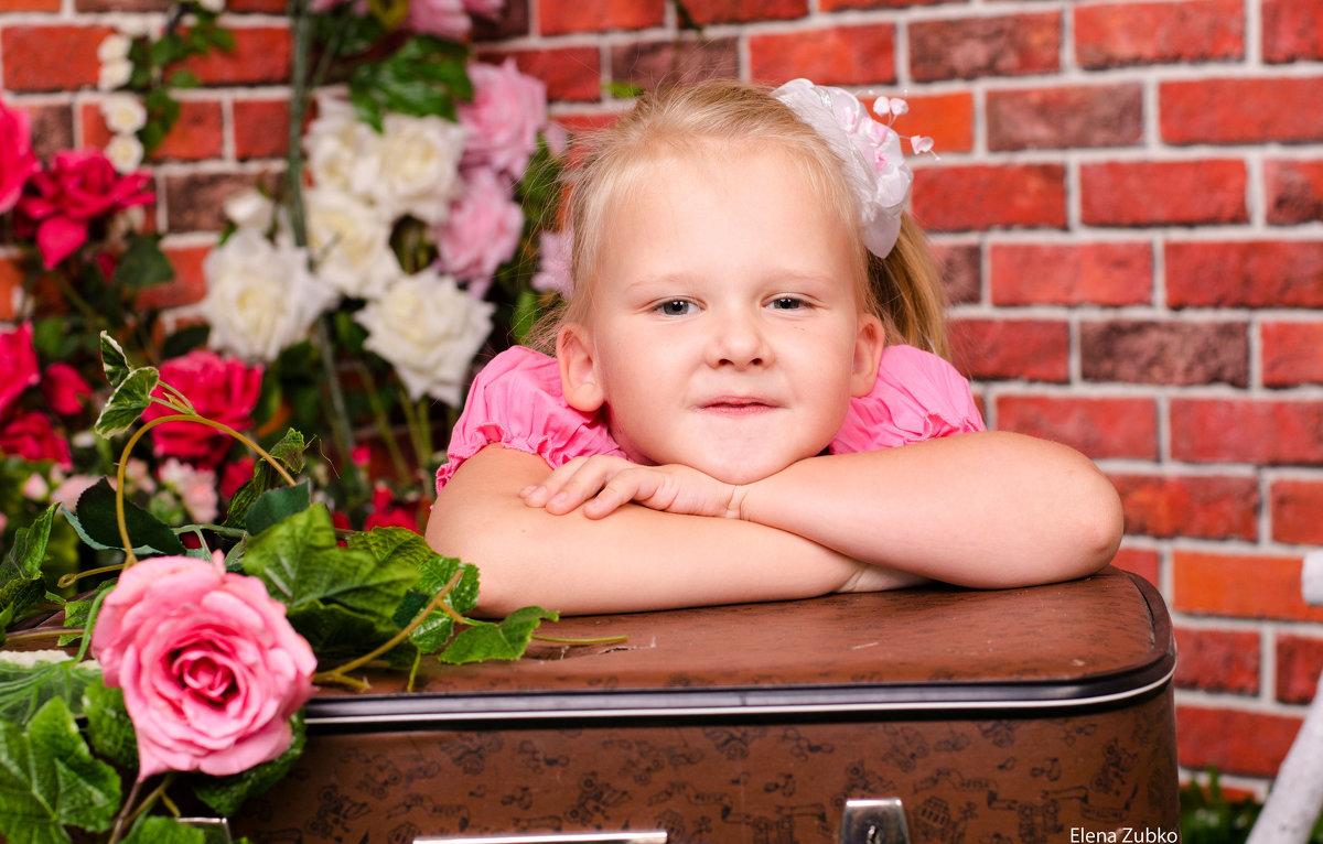 Детская фотосессия - Елена