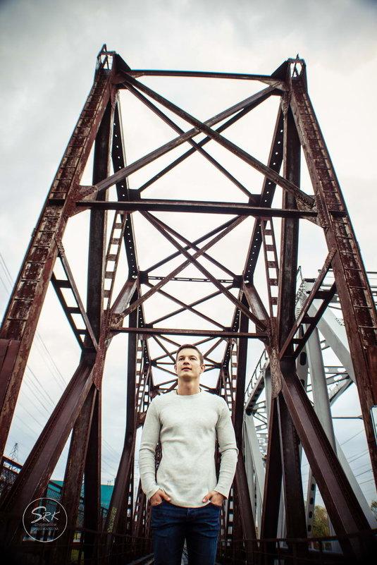 Crossroads of the Continent. Мужская фотосессия. Мужской портрет. Фотограф Руслан Кокорев. - Руслан Кокорев