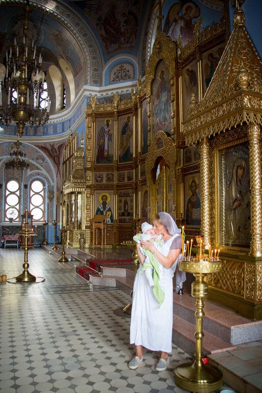 крестины Андрея Александровича) - Yulia Golub