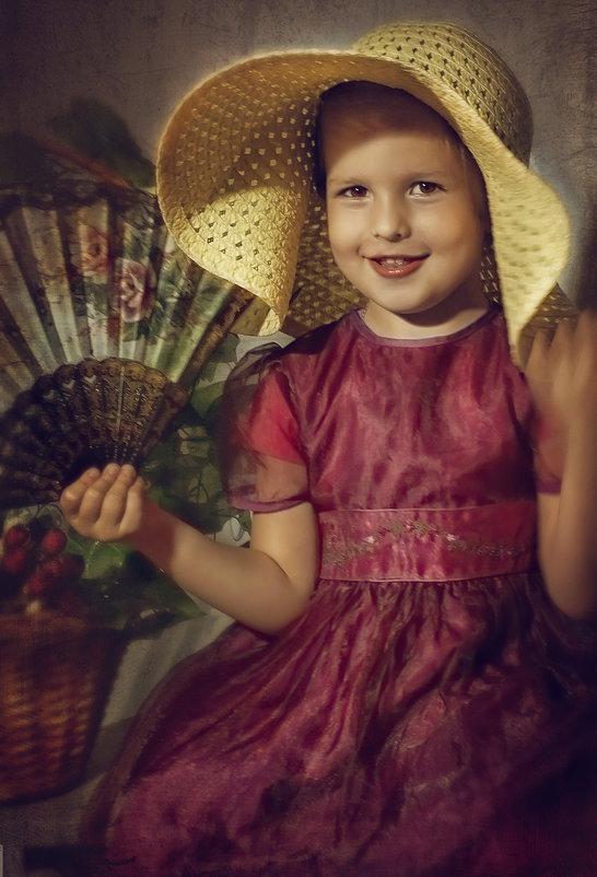 дама в шляпе - Анна Скиргика