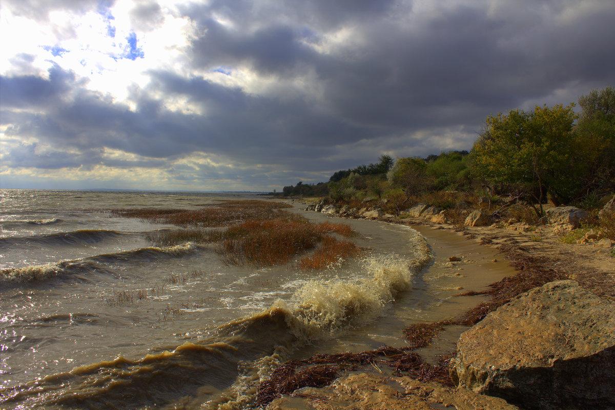 Октябрь на море - оксана косатенко