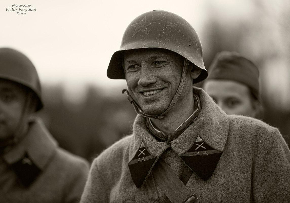 хорошее настроение русского солдата.. - Виктор Перякин
