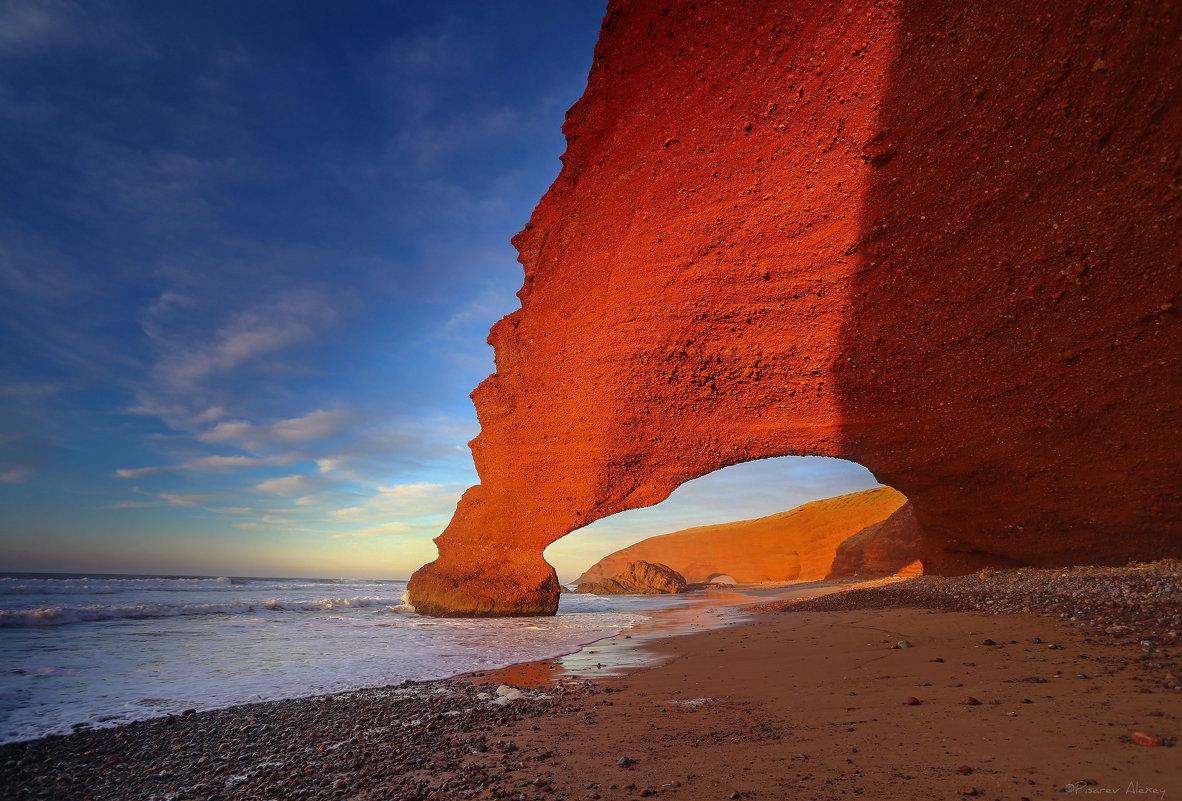 Марокко арки пляжа Легзира - Алексей Писарев