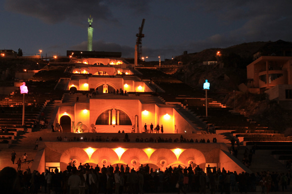 Ночной Ереван - Эдуард Цветков