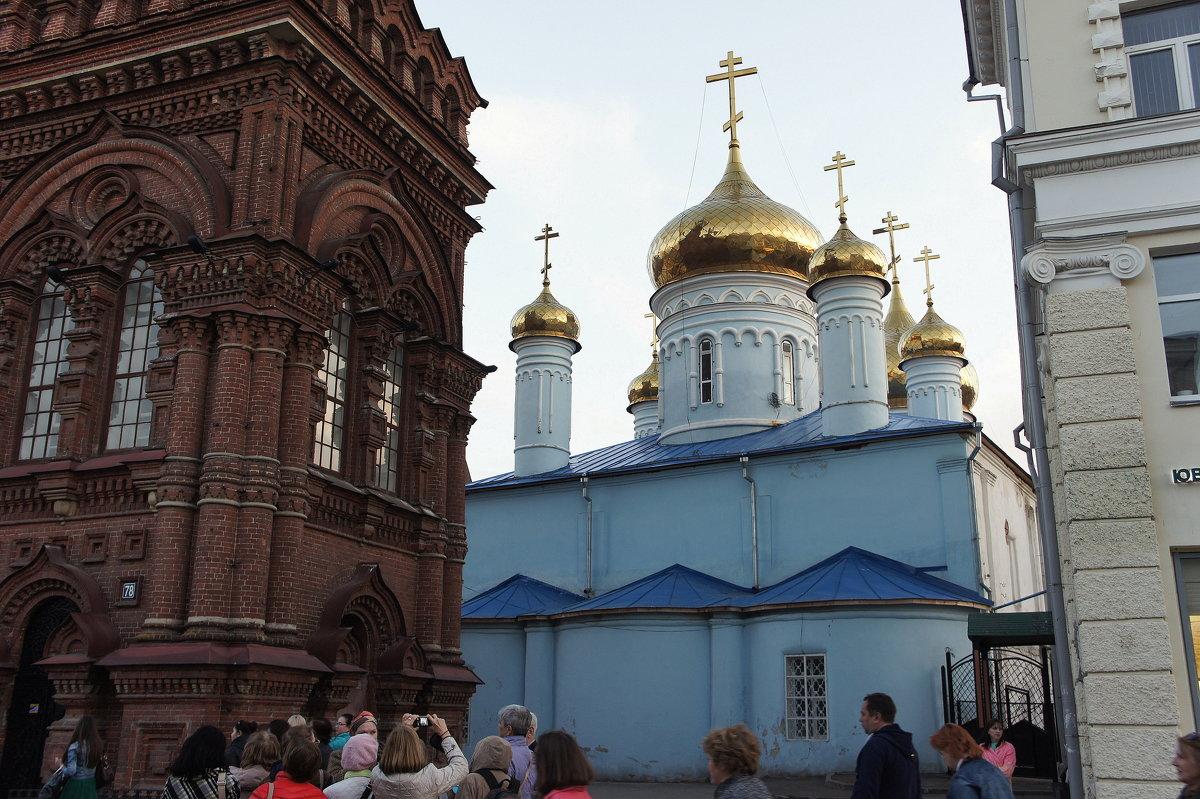 Богoявленский собор с колокольней, которая в начале XX века была самым высоким зданием города - Елена Павлова (Смолова)
