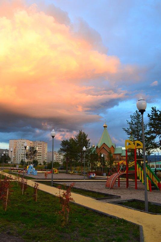 Вечер с дождём - Ольга