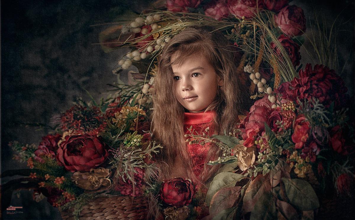 Девочка в цветах - Roman Sergeev