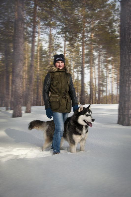 Фотосессия с хаски - Ivan Kuznetcov