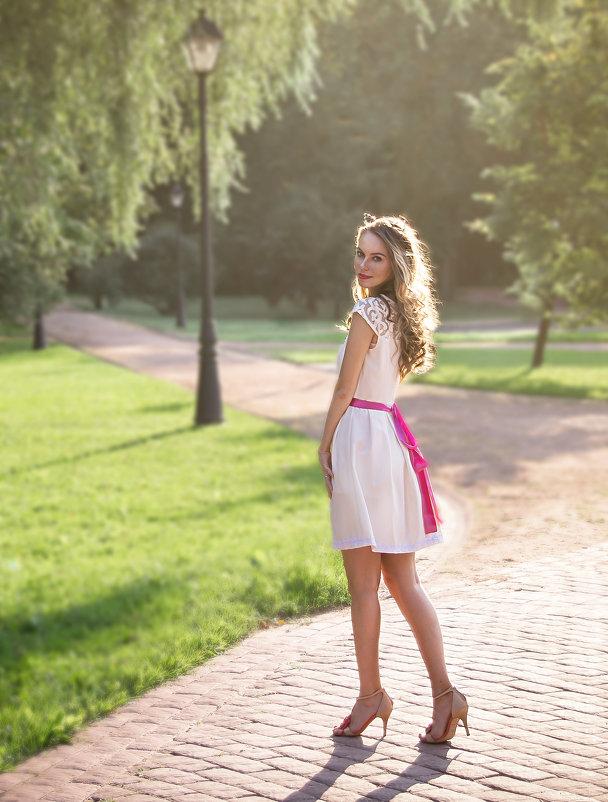 В парке - Елена Ельцова