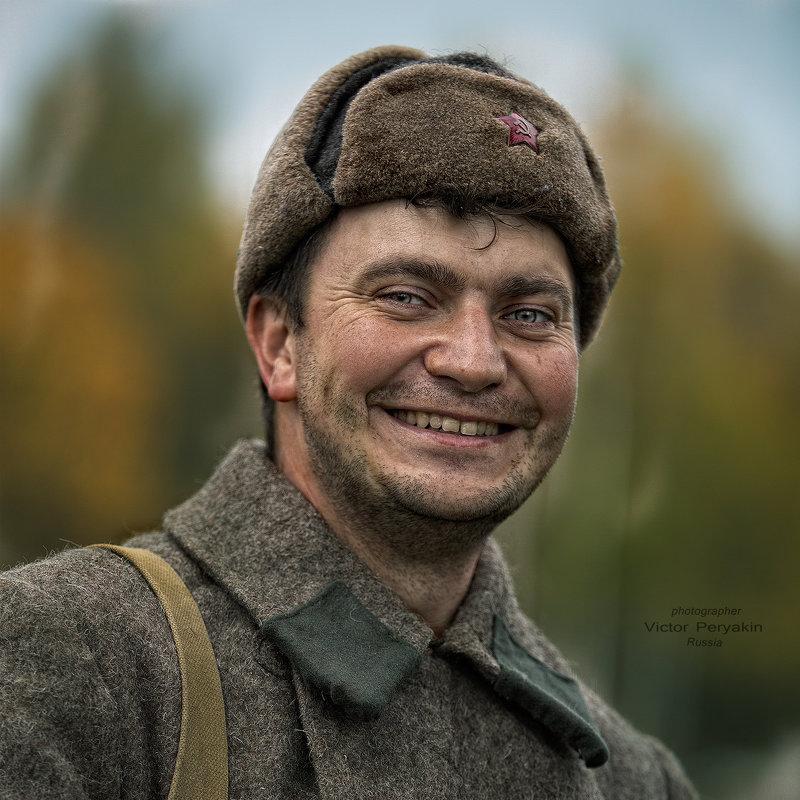 Портрет с фронта.. - Виктор Перякин