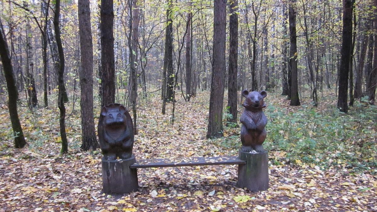 Осенний парк - Галина