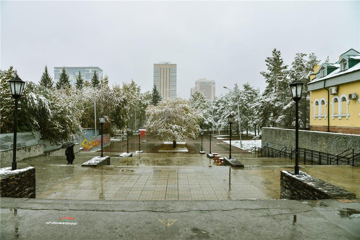 Заснеженный город* - cfysx