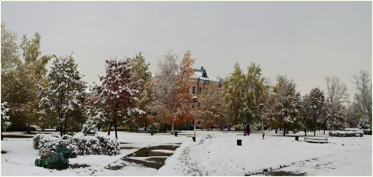 Первый снег. - Владимир Михайлович Дадочкин