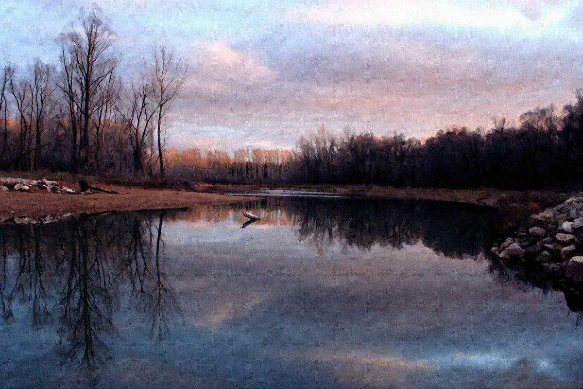 Серый день короче ночи, холодна в реке вода ... - Евгений Юрков