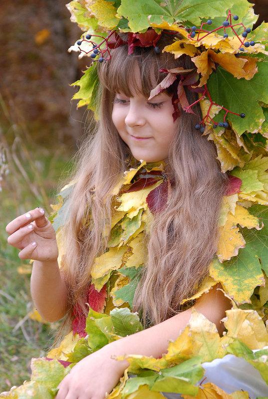 Осень мошку поймала - Оксана Джафарова