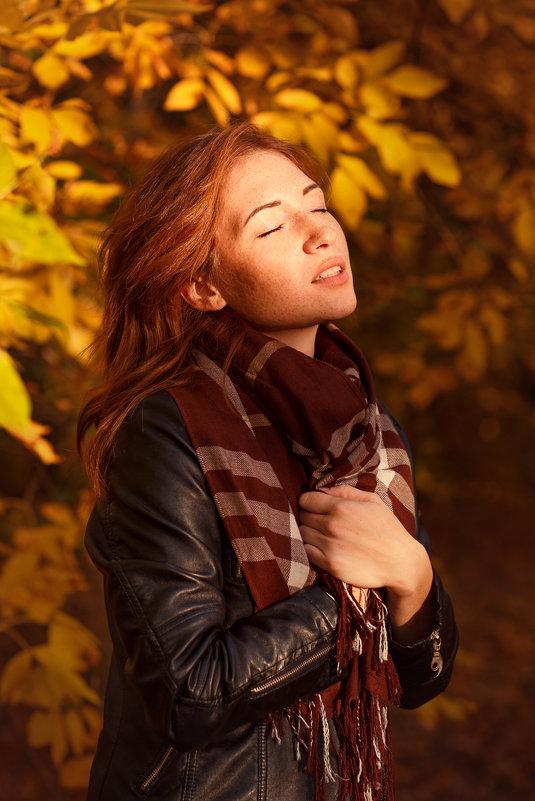 девушка осень - Олеся