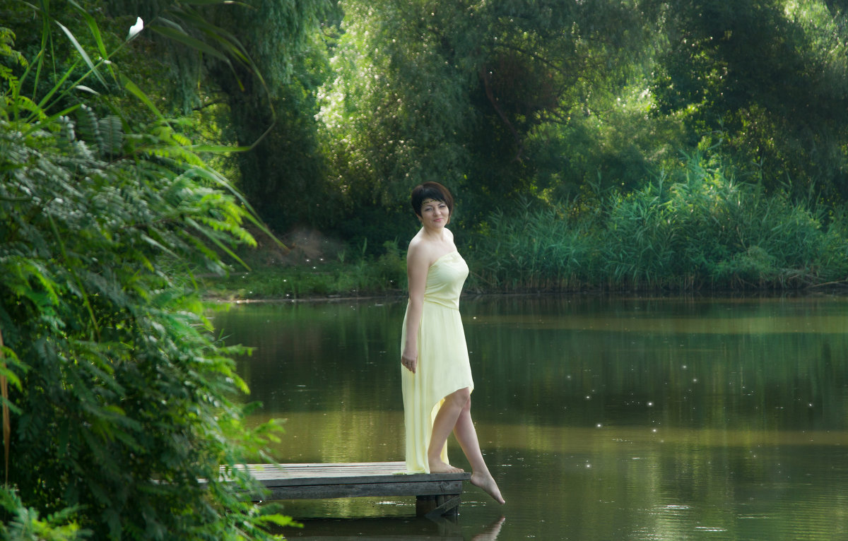 у озера - Anna Dontsova