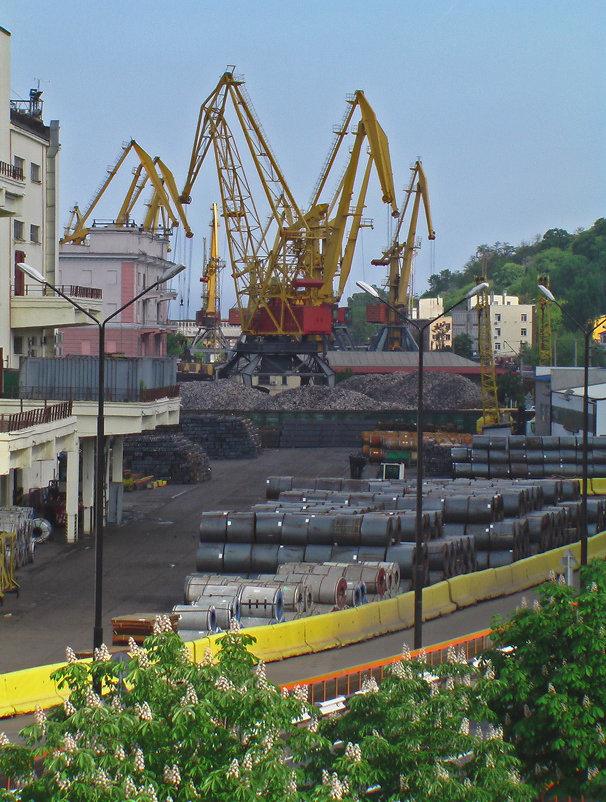 Одесса, порт. - Сергей