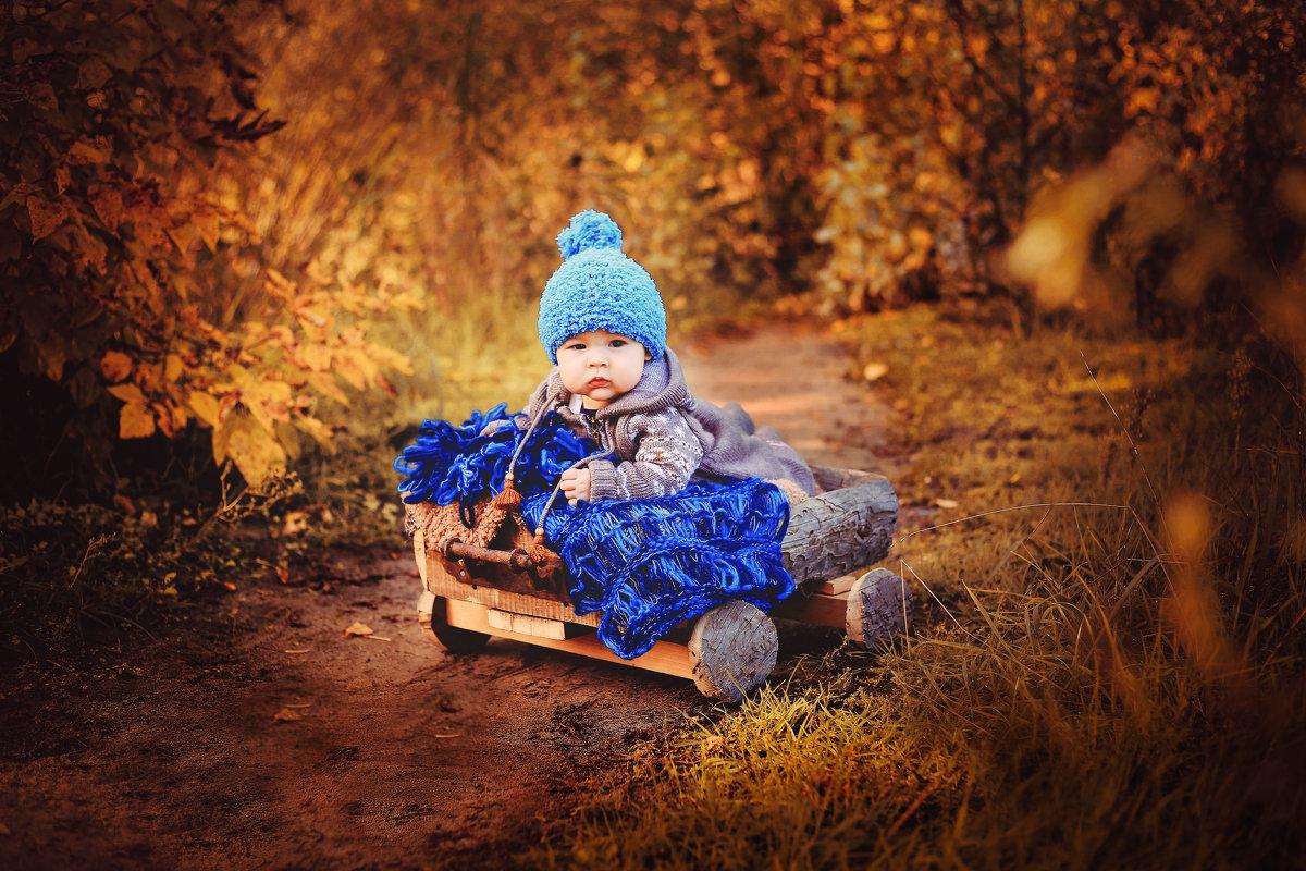 Малыш в сказочной осени - Ольга