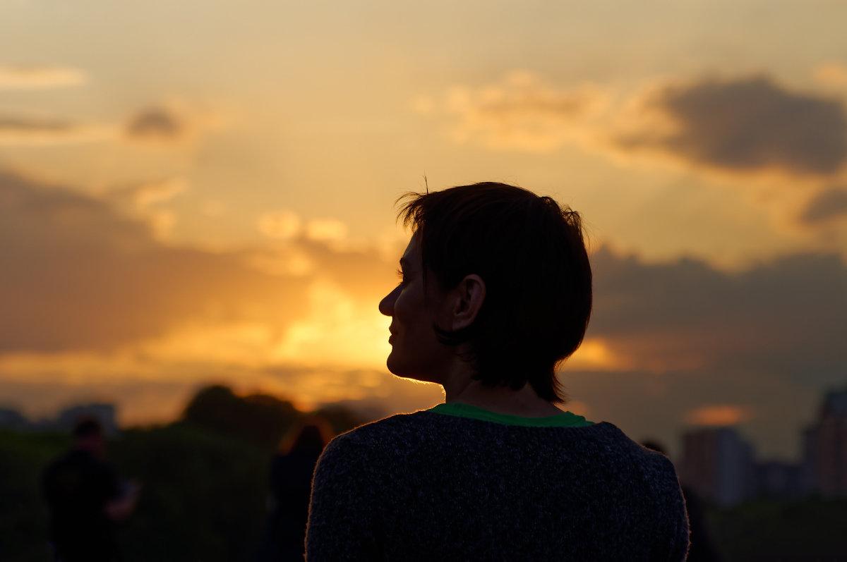 Портрет незнакомки на закате - Константин Косов