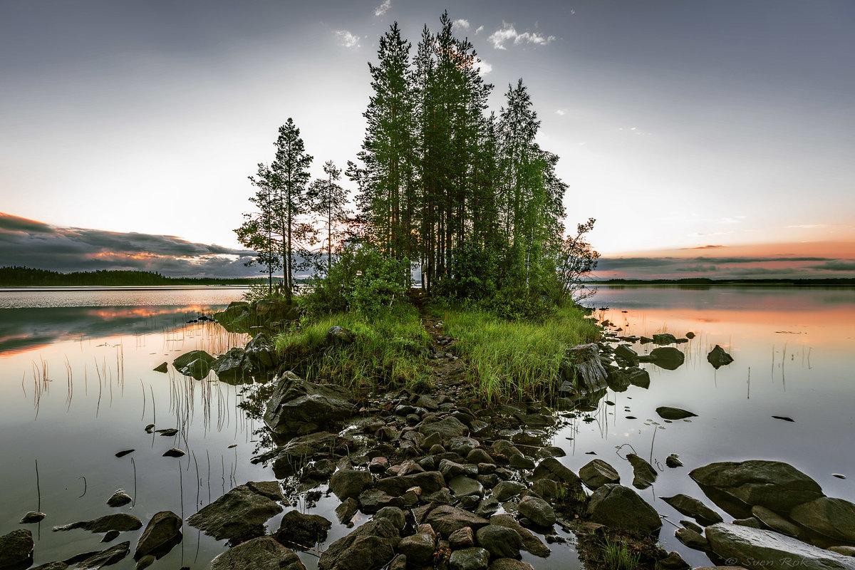 Озеро и остров. - Sven Rok