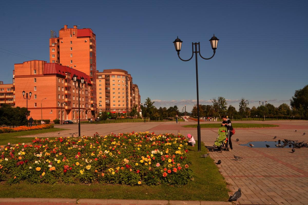 парк 300летия гор. Ломоносов - Валентина Папилова