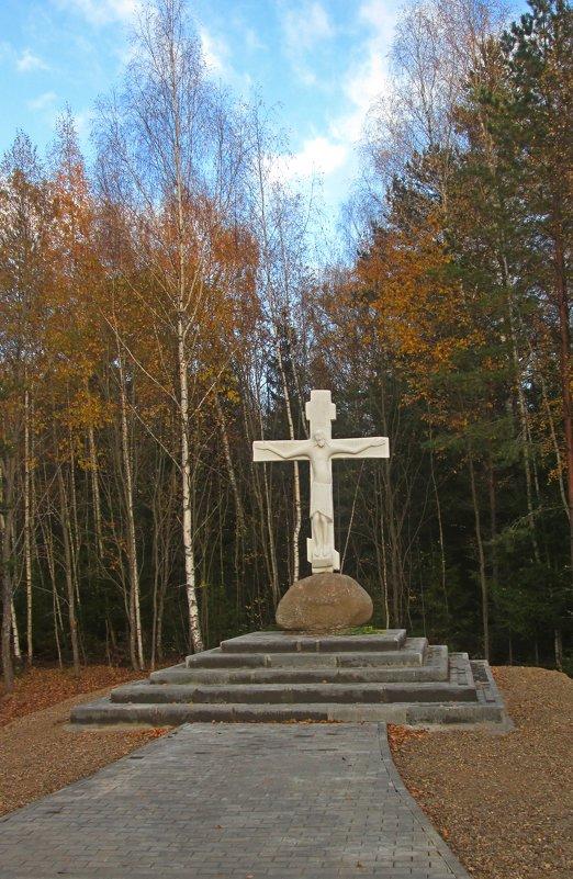 Крест у дороги. - Михаил Попов