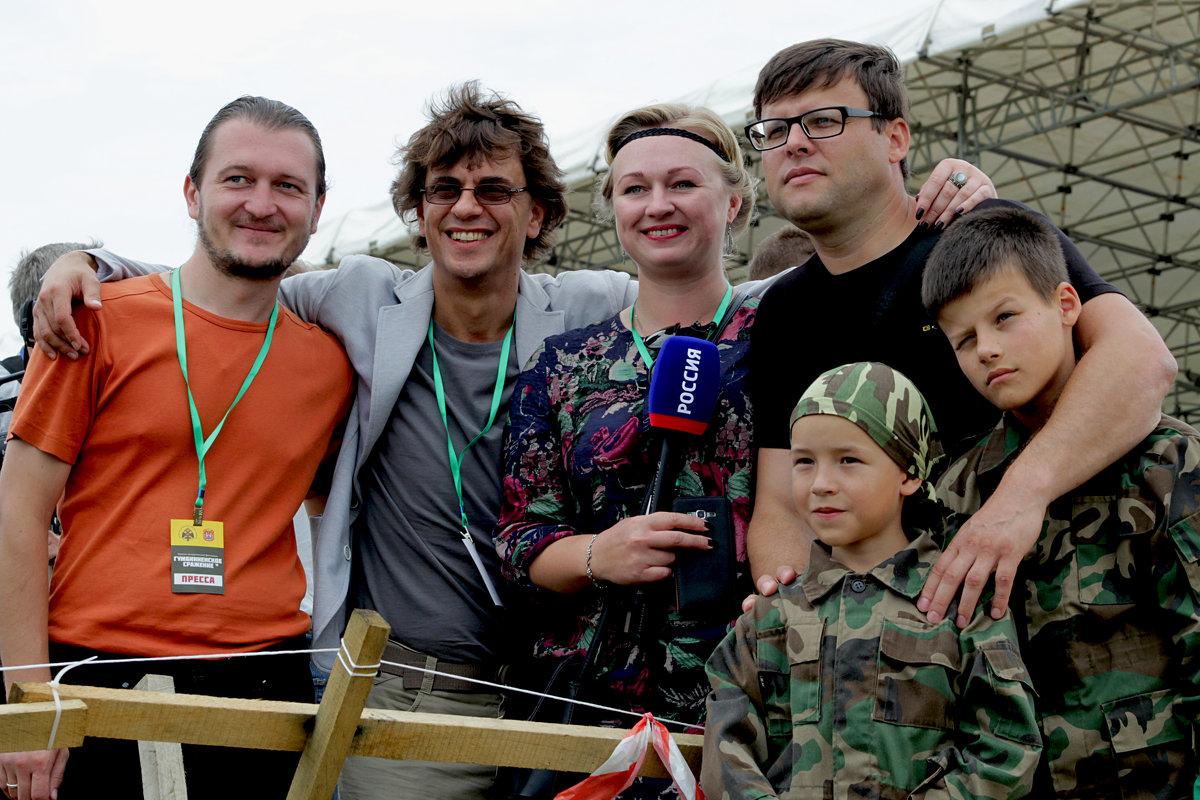 ... работники местного ГТРК ... - Дмитрий Иншин