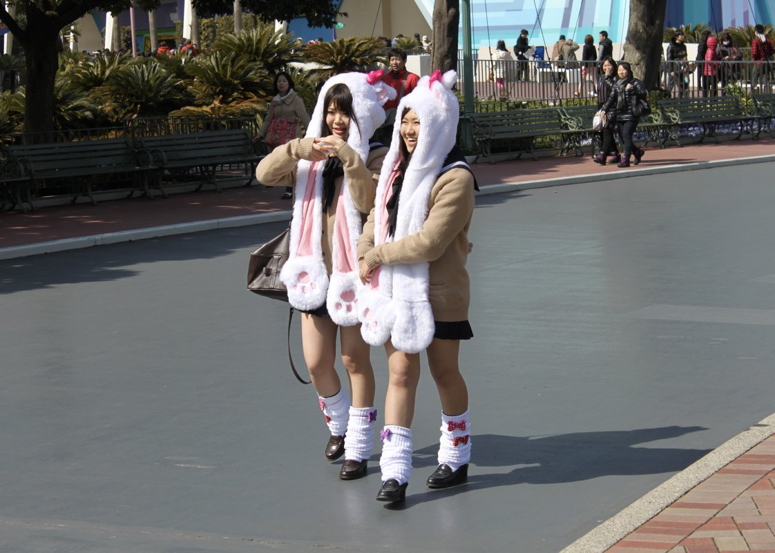 Японские девчонки - Елена