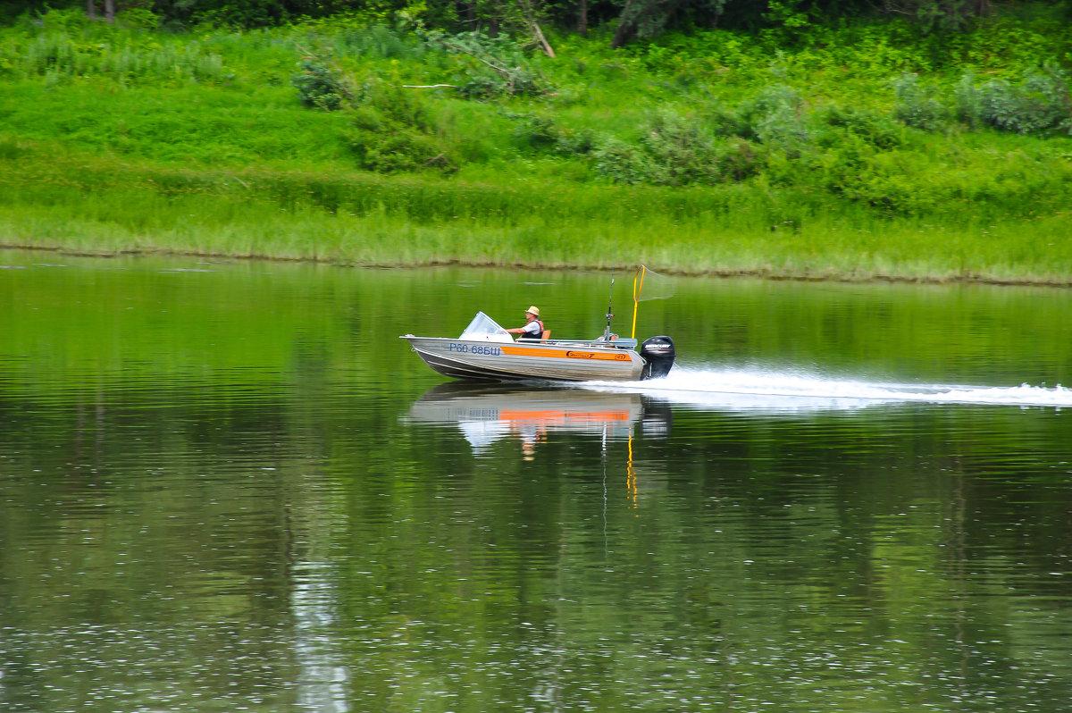Рыбак на реке Каме - Сергей Тагиров