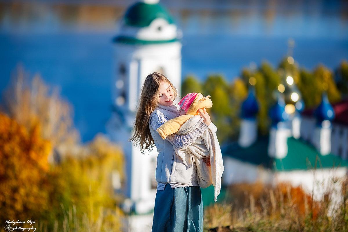 осень в Плёсе - Ольга Челышева