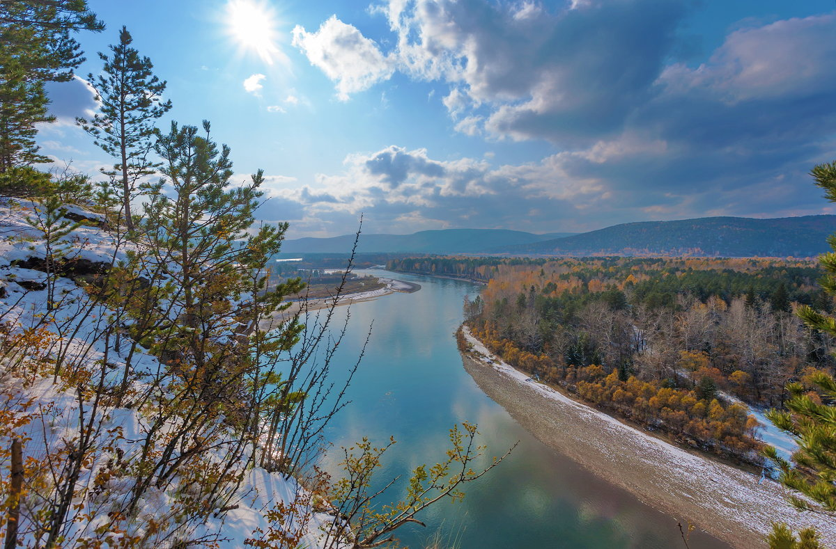 Солнце над рекой - Анатолий Иргл