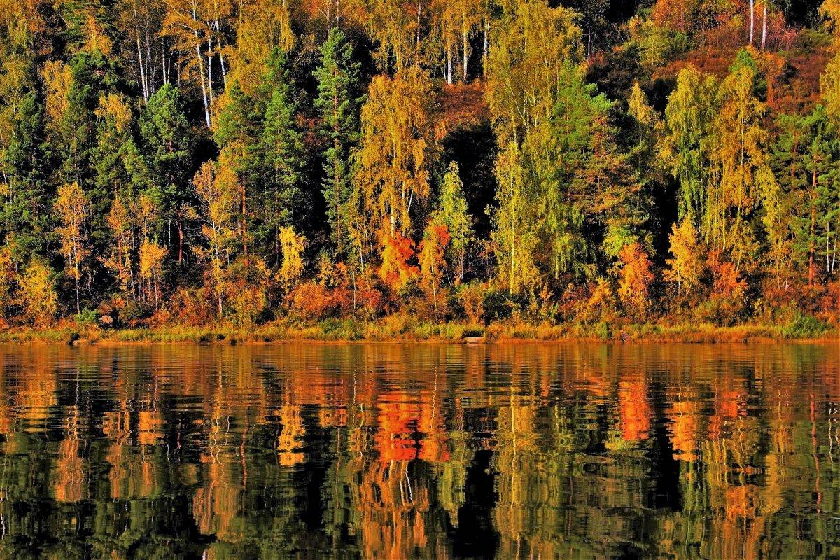 Чарование осеннего зеркала - Сергей Чиняев