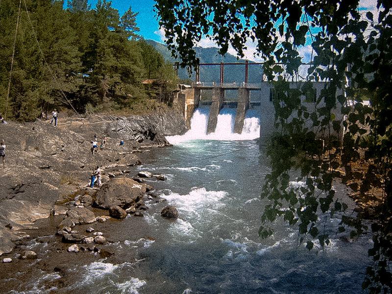Чемальская ГЭС - Лариса Димитрова