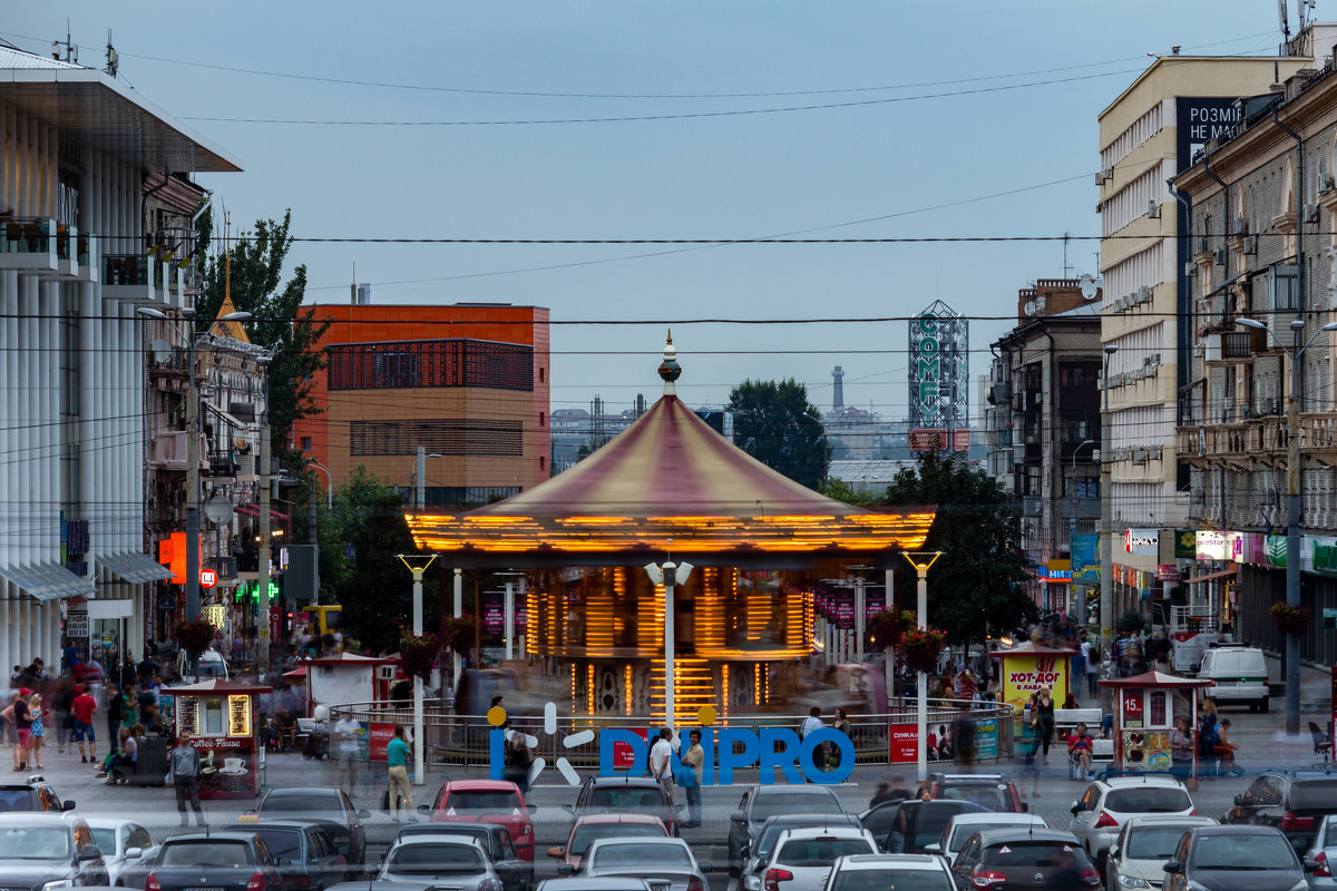 Секунда из жизни города - Artem Zelenyuk