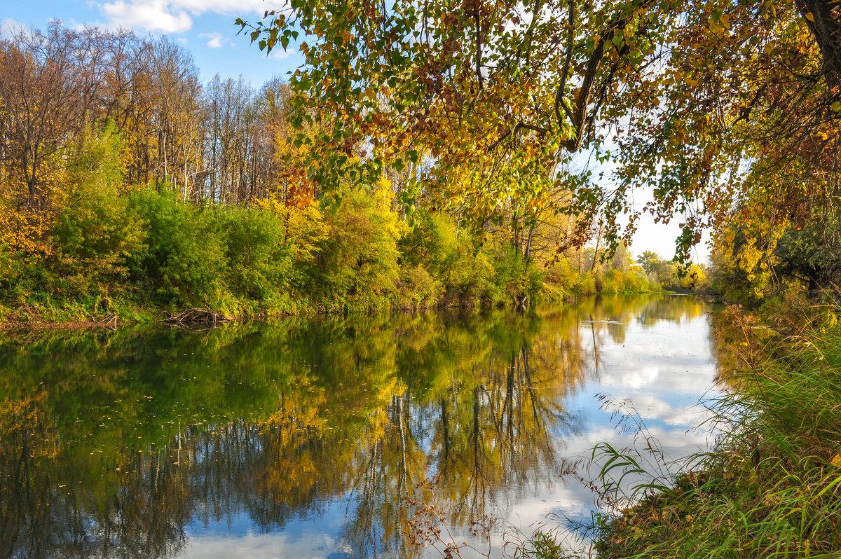 Осень на реке Деме - Сергей Тагиров