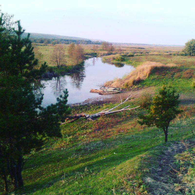 Осень реки Битюг. - Ольга Кривых