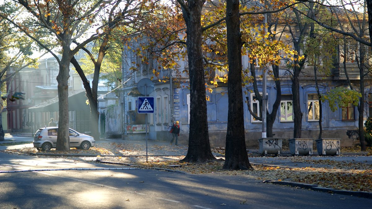 Осень в Николаеве... - Сергей Порфирьев