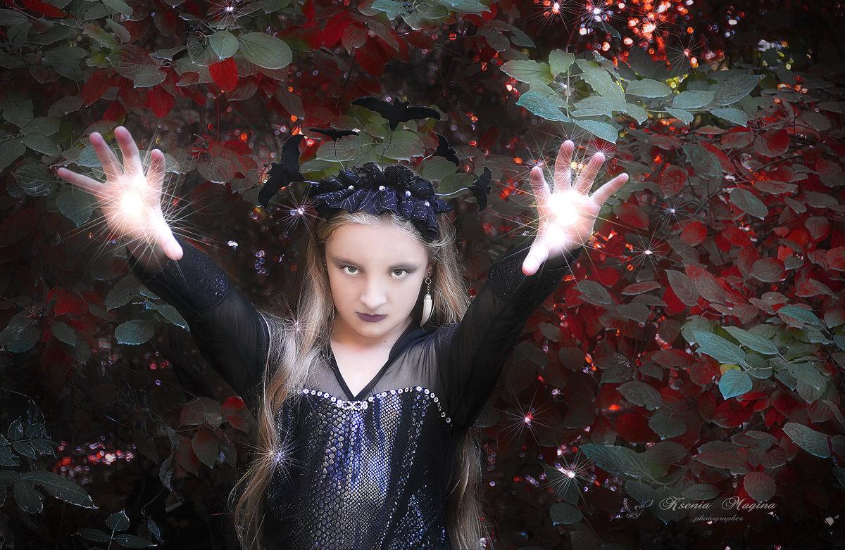 юная колдунья - Ксения