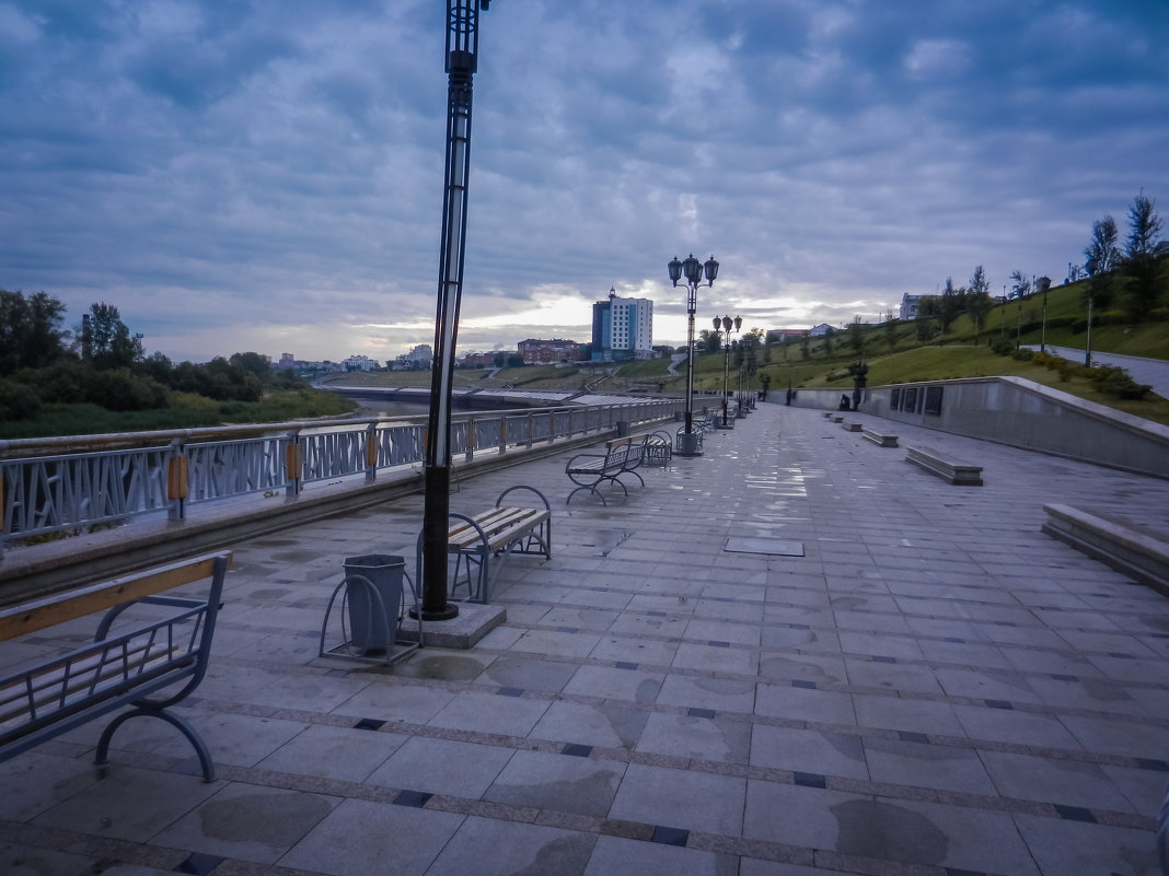 Набережная Туры - Светлана
