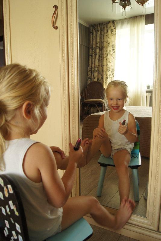 Первый макияж - Наташа Федорова