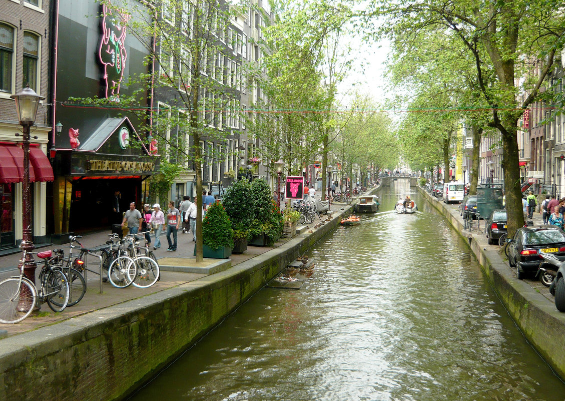 Улица Амстердама. - Надежда