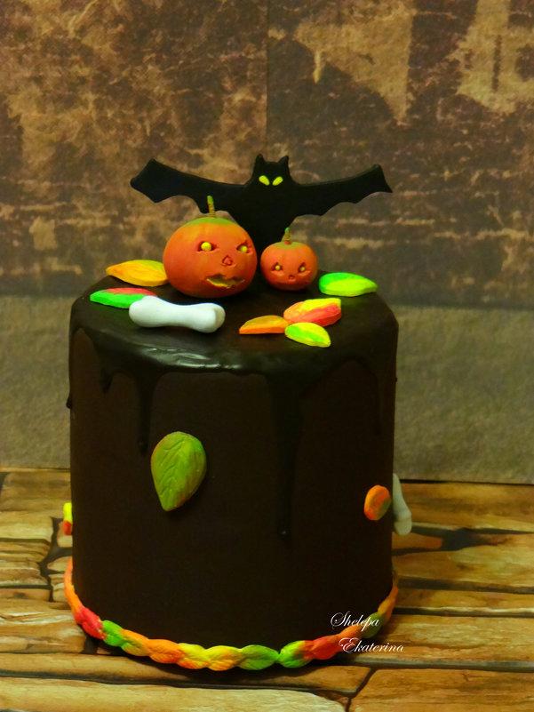 торт из полимерной deco глины - Екатерина