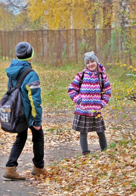 Трое шли из школы 3 - Валерий Талашов