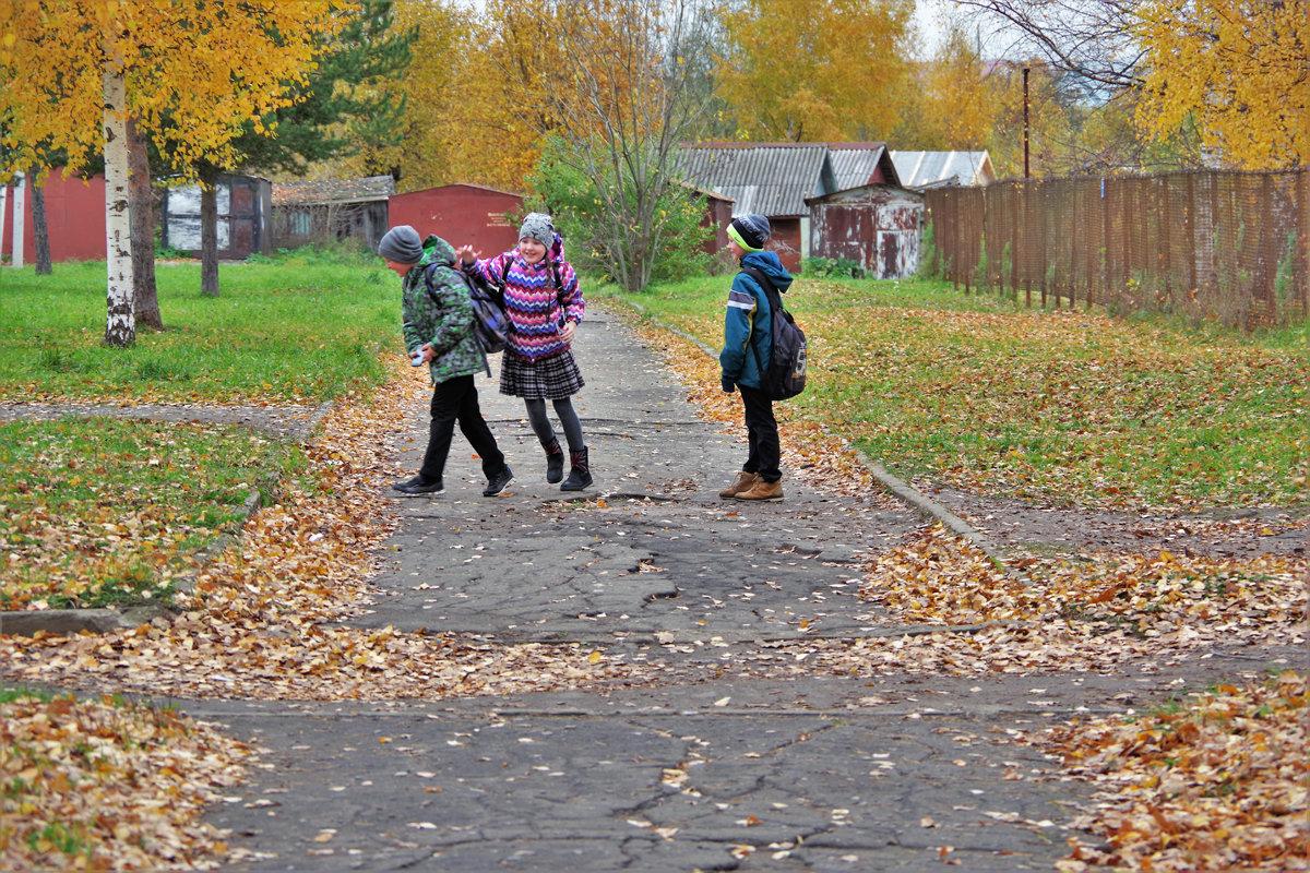 Трое шли из школы 1 - Валерий Талашов