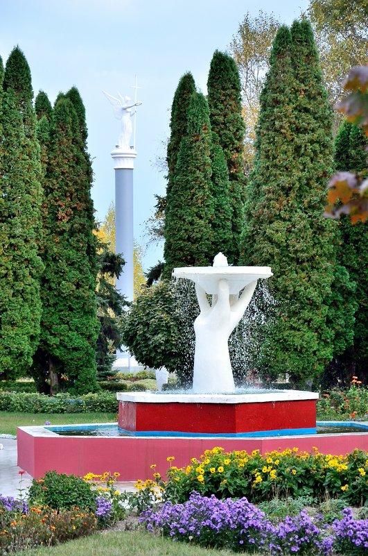 В парке сан. Виктория Ессентуки - Мария Климова