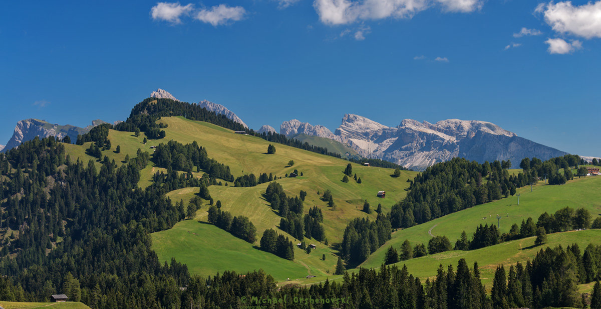 Alpe di Siusi. - михаил
