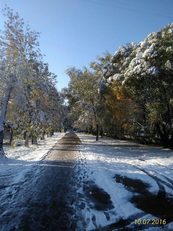Осень всё проспала, а зима не дремлет - Олег Отт
