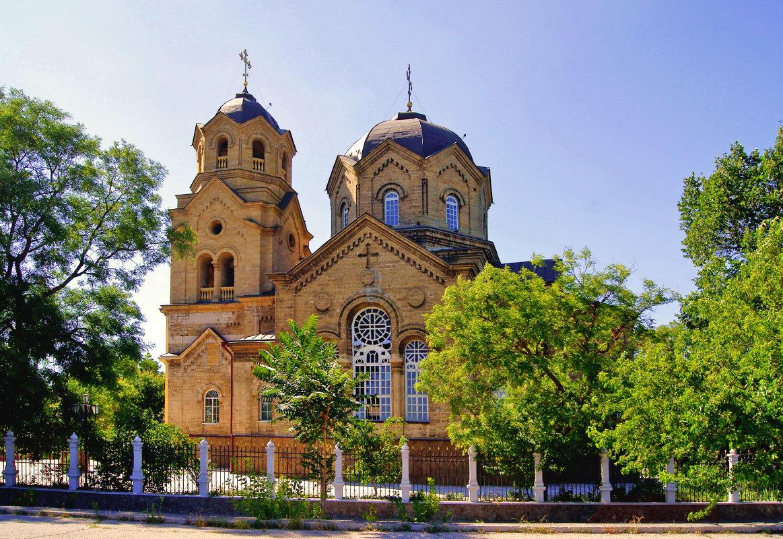Церковь Илии Пророка. Евпатория - герасим свистоплясов